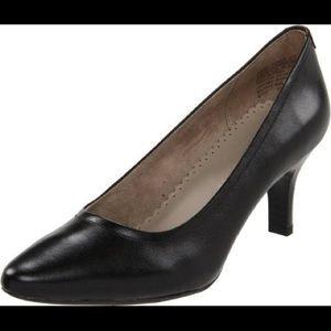 Rockport Adiprene Comfort Pilot Path Black heels